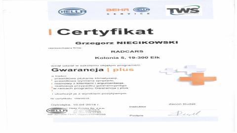 Galeria certificate #5