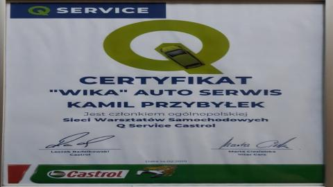 Galeria certificate #1